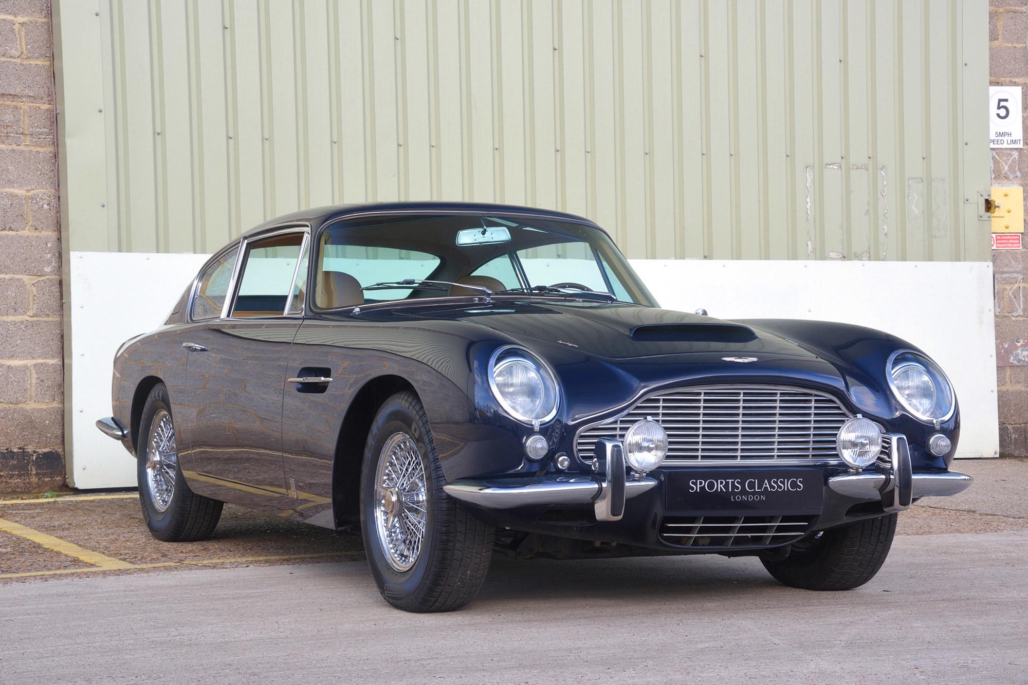 1966 Aston Martin DB6 Vantage LHD