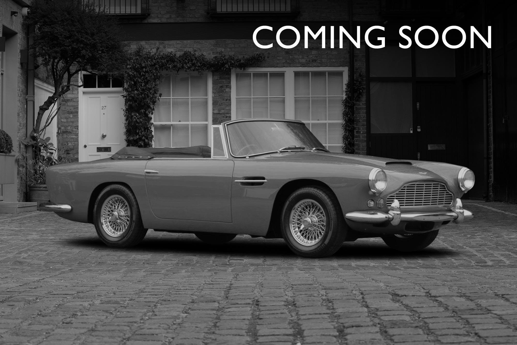 1963 Aston Martin DB4 Convertible Series V SS