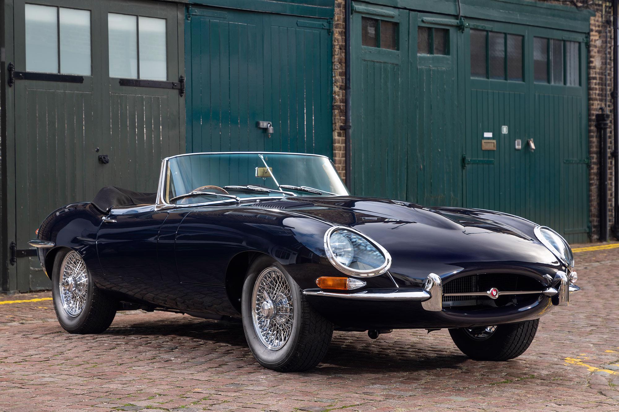 1968 Jaguar E-type Series 1 OTS RHD